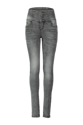 Jeans taille haute Yfcaliw17