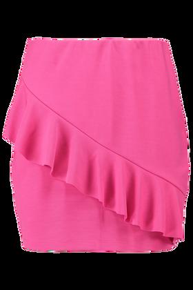 Mini jupe Oruffle